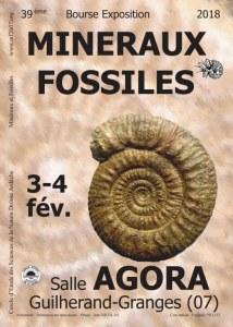 39ème Bourse Minéraux et Fossiles de Guilherand-Granges