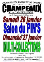 Salon du Pin's le 26/01/2019 à CHAMPEAUX (77)