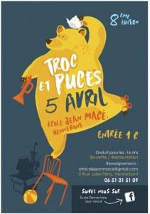 8eme Troc et Puces de l'Ecole Jean Macé