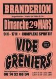 Vide greniers Brandérion le Dimanche 29 Mars 2020