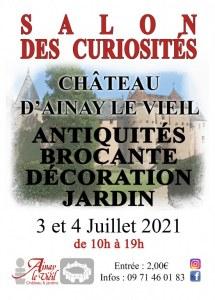 Salon des Curiosités au Château d'Ainay-le-Vieil