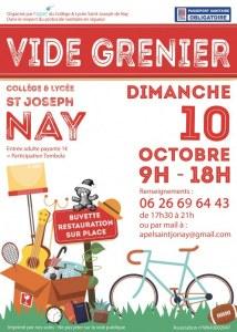 18ème GRAND VIDE GRENIER APEL St Jo Nay