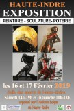 11° Exposition Artistique à Haute INDRE les 16 et 17 février 2019
