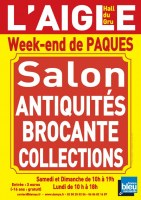 L'AIGLE Salon Antiquités Brocante Collections