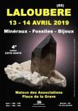 4e SALON MINERAUX FOSSILES BIJOUX de LALOUBERE (65) - OCCITANIE - FRANCE