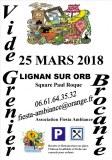 7ème VIDE GRENIER A LIGNAN SUR ORB ( 34490 )