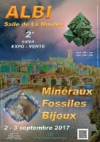 2e SALON MINERAUX FOSSILES BIJOUX d'ALBI - TARN - REGION OCCITANIE - FRANCE