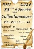 33ème JOURNÉE des COLLECTIONNEURS de MALVILLE