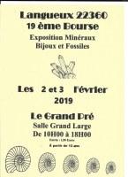 19ème Bourse exposition de minéraux et fossiles