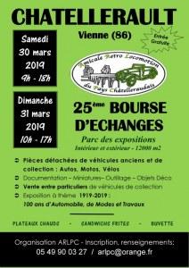 25ème BOURSE D'ECHANGES Auto Moto de Châtellerault (86)