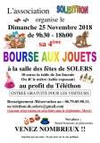 BOURSE AUX JOUETS AU PROFIT DU TELETHON