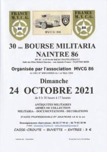 BOURSE AUX ARMES DE NAINTRÉ (86)