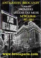 Brocante Antiquités & Vintage de la Place de la Bourse