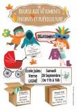 Bourse aux vêtements enfants et puériculture