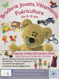 Braderie puericulture 0-16 ans