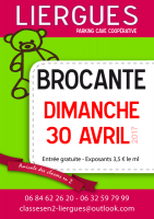 20e brocante des classes en 2 de Lierrgues