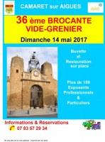 Camaret sur Aigues - 36ème Brocante vide grenier