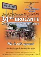 34ème BROCANTE – ANTIQUITES ET VIDE GRENIER