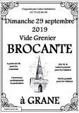 Brocante - Vide grenier à Grâne (26400) le dimanche 29 septembre 2019