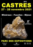 2e SALON MINERAUX FOSSILES BIJOUX de CASTRES