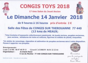 CONGIS TOYS Salon du Jouet Ancien