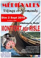 """Médiévales de Montfort sur Risle """"Vikings et Normands"""""""