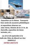 Exposqtion Journée du timbre avec thème Concorde