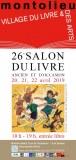 26ème SALON DU LIVRE ANCIEN ET D'OCCASION
