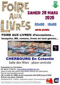 FOIRE AUX LIVRES - CHERBOURG