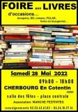 Foire aux livres d'occasion, CHERBOURG 28 MAI 2022