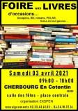 FOIRE AUX LIVRES/ d'occasions….. bouquins, BD, romans…livres en tout genres