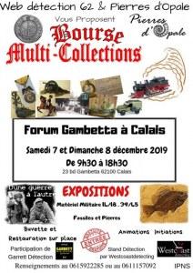 Bourse multi collections Forum Gambetta Calais 7&8 Décembre 2019