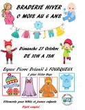 Bourse aux vêtements pour bébés et jeunes enfants du 0 mois au 6 ans