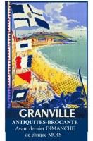 Marché mensuel d'Antiquités-Brocante de Granville (50)