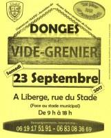 VIDE-GRENIER des Anciens Sapeurs-Pompiers de Donges
