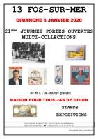 21ème JOURNEE PORTES OUVERTES MULTI-COLLECTIONS