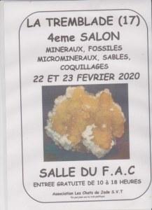4 ème salon minéraux, fossiles, microminéraux, coquillages et sables