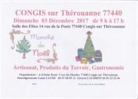 Marché de Noel à CONGIS sur Thérouanne 77440
