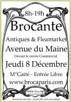 Brocante Montparnasse