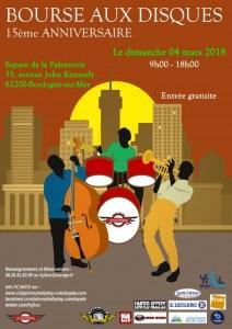 15 ème bourse aux disques de Boulogne sur mer