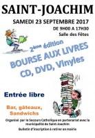 BOURSE AUX LIVRES, CD, DVD et Vinyles