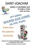 BOURSE AUX LIVRES, CD, DVD, Vinyles