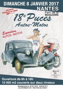 18émes Puces Autos-Motos NANTES LA BEAUJOIRE