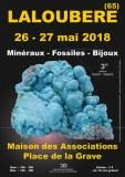 3e SALON MINERAUX FOSSILES BIJOUX de LALOUBERE - HAUTES-PYRENEES - OCCITANIE - FRANCE