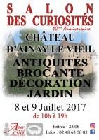 Salon des Curiosités du Château d'Ainay le Vieil