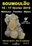 9e SALON MINERAUX FOSSILES BIJOUX de SOUMOULOU - PYRENES-ATLANTIQUES - NOUVELLE AQUITAI...