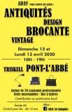Salon antiquités design brocante vintage