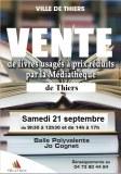 « Journée du désherbage » - vente de livres usagés de la Médiathèque de Thiers et des...