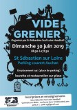 Vide Grenier parking Auchan organisé par St Sébastien Sud Loire Handball