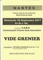 Vide Grenier Rd Pt de Paris Place du marché de la Marrière